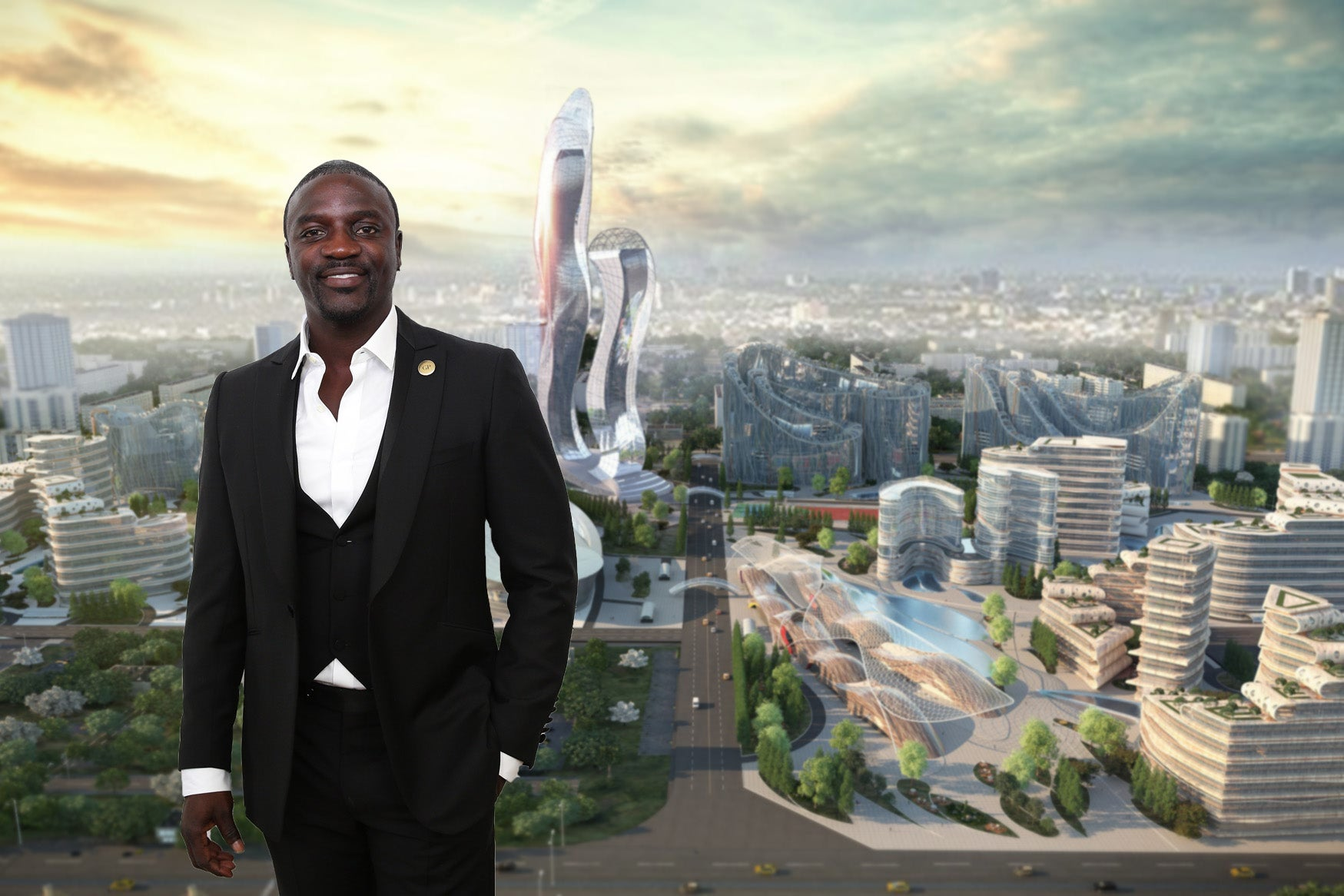 Senegalese-American singer Akon is raising  billion to build a real-life Wakanda straight out of the 'Black Panther' movie, but some Afric
