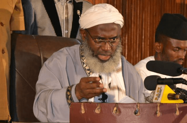 """Don""""t Crucify Sheikh Gumi For Putting His Life On The Line To Talk To  Bandits, MURIC Tells Nigerians 